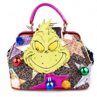 IRREGULAR CHOICE Dr Seuss The Grinch Vengeful And Mean Bag