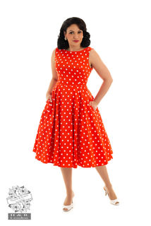 HEARTS & ROSES LONDON Sandy Swing Dress