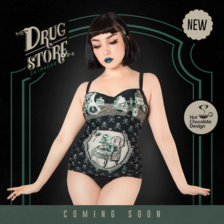 HOT CHOCOLATE DESIGN Drug Store One Piece Swimsuit