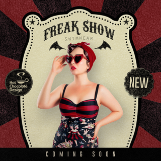 HOT CHOCOLATE DESIGN Freak Show One Piece Swimsuit