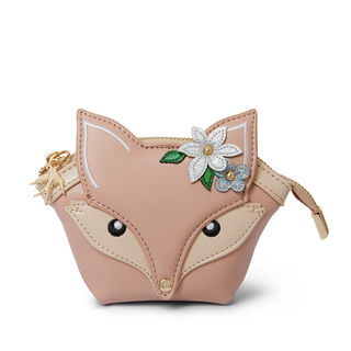 ERSTWILDER Flora Fox Face Coin Purse