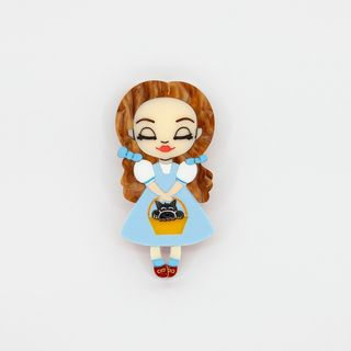 DAISY JEAN FLORAL Wizard Of Oz Dorothy Brooch