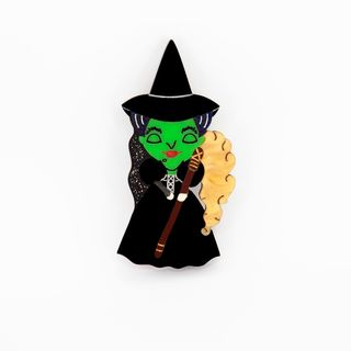 DAISY JEAN FLORAL Wizard Of Oz Wicked Witch Brooch