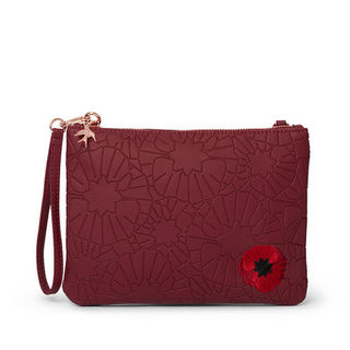 ERSTWILDER Poppy Field Clutch