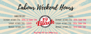 Labour Weekend Hours 2018