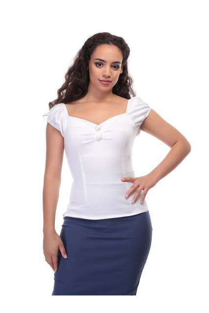 COLLECTIF Dolores Top White