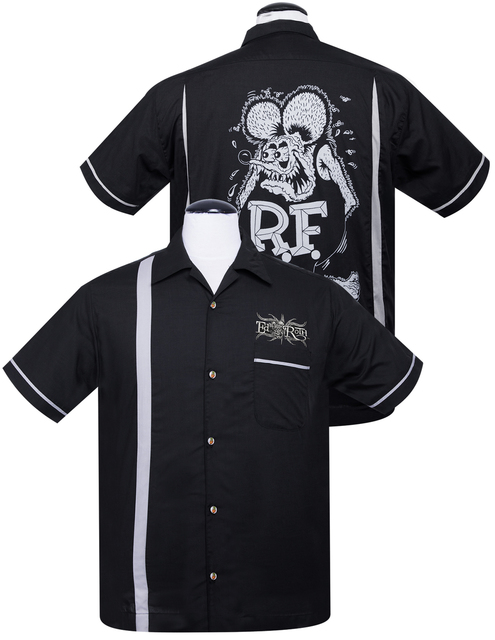 STEADY CLOTHING Rat Fink Kustoms Bowler