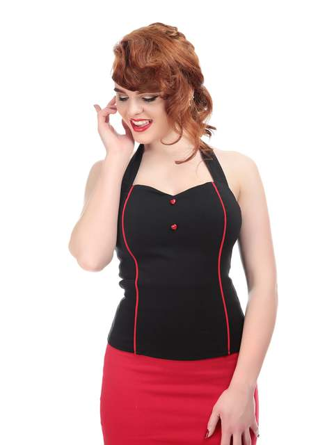 COLLECTIF Roxanne Sweetheart Top