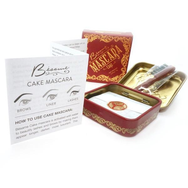 BESAME COSMETICS Cake Mascara Brown