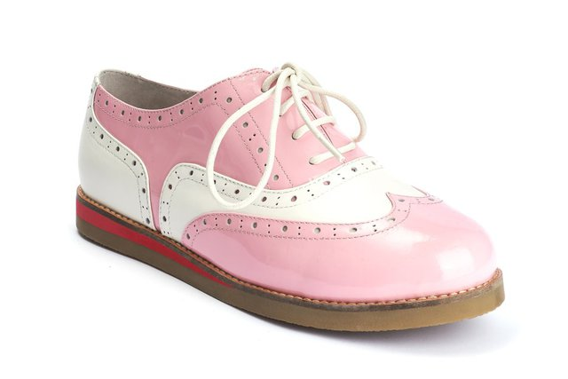 LOLA RAMONA Cecilia Wingtip Candy Pink Last One Size 38