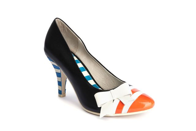 LOLA RAMONA Stiletto Orange Last One Size 40