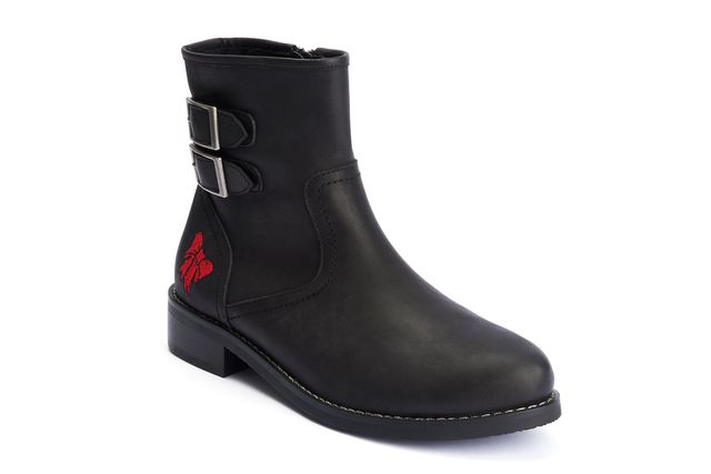 LOLA RAMONA Chelsea Rugged Black Boot