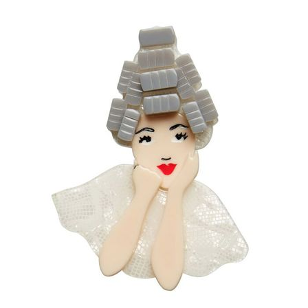 ERSTWILDER Grease Beauty School Dropout Brooch