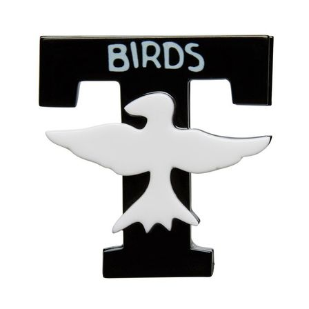 ERSTWILDER Grease T-Birds Brooch