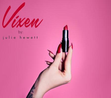 VIXEN by MICHELINE PITT Vixen Red Lipstick by Julie Hewett