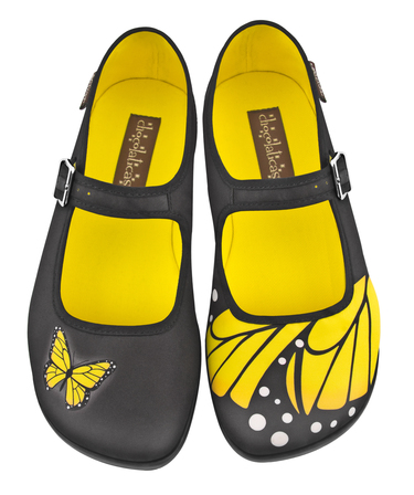 CHOCOLATICAS Yellow Butterfly