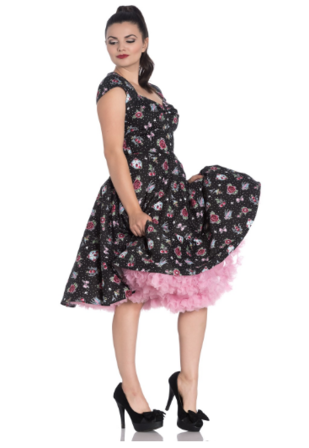 HELL BUNNY Stevie 50s Dress Last One Size 8