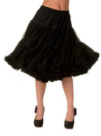 BANNED APPAREL Black Petticoat