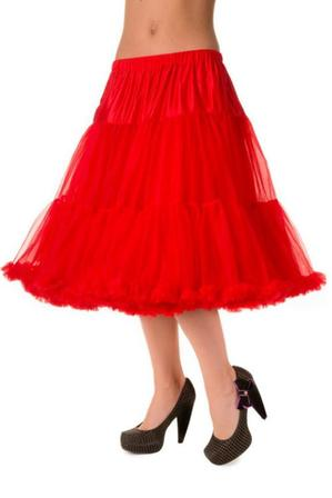 BANNED APPAREL Red Petticoat