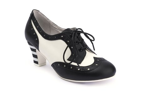 LOLA RAMONA Ava Malone Black and Cream