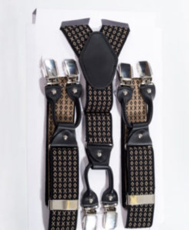 BANNED APPAREL Rockabilly Braces Brown