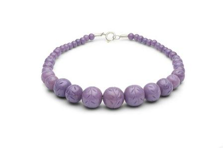 SPLENDETTE Carved Wisteria Fakelite Beads