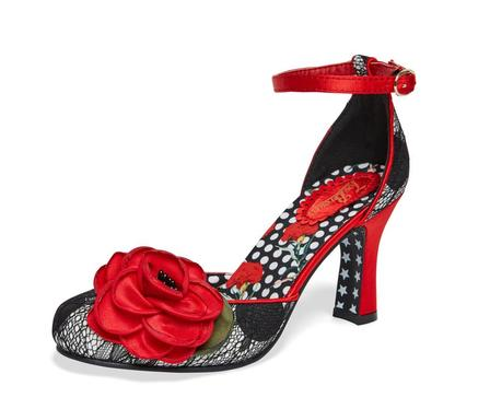 JOE BROWNS Cordelia Red and Black