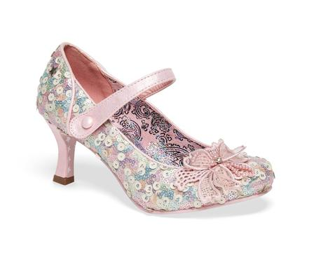 JOE BROWNS Katherina Pastel Pink Sequins