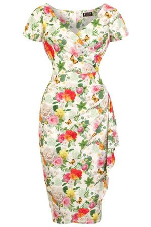 LADY VINTAGE Elsie Dress English Garden