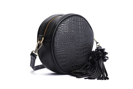 LOLA RAMONA Lou Nifty in Black Croc