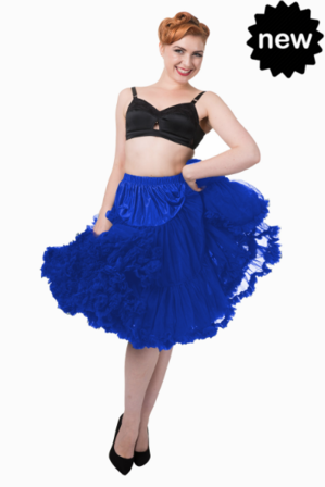 BANNED APPAREL Royal Blue Petticoat