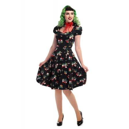 COLLECTIF Mimi Gnome Dress Last One Size 10