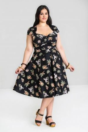 HELL BUNNY Messina 50s Dress