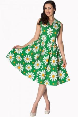 BANNED APPAREL Crazy Daisy Shirtdress