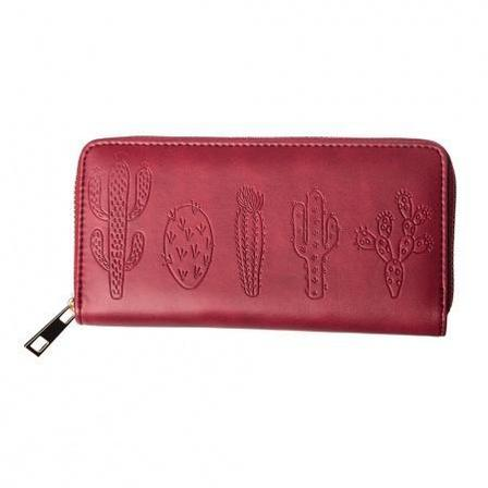 BANNED APPAREL Desert Bells Wallet Bordeaux
