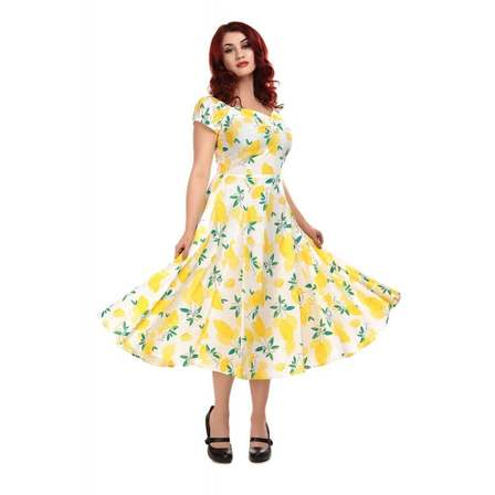 COLLECTIF Dolores Lemons Doll Dress