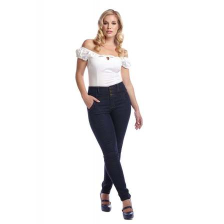COLLECTIF Rebel Kate Stretch Denim Jeans