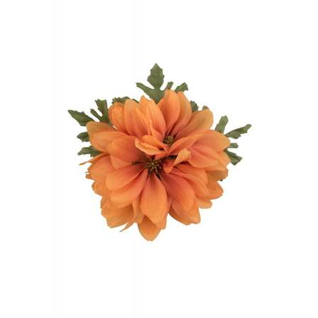 COLLECTIF Claire Hair Flower Orange