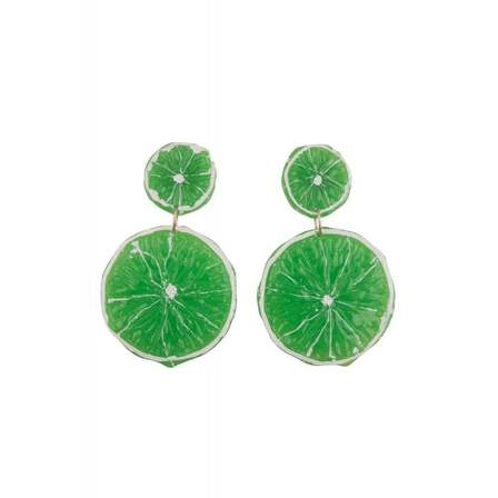 COLLECTIF Lime Slices Earrings