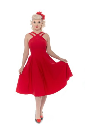REBEL LOVE CLOTHING Pretty Woman Dress