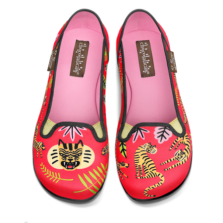 CHOCOLATICAS Tigris Slip On Flats