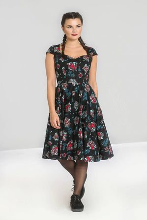 HELL BUNNY Poseidon 50s Dress