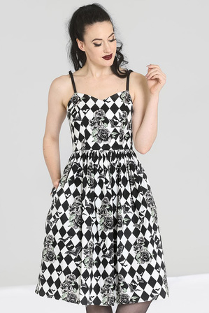HELL BUNNY Hauntley Dress