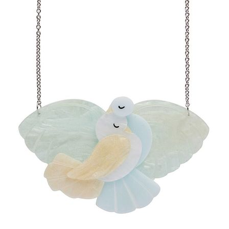 ERSTWILDER Mes Columbes Doves Necklace