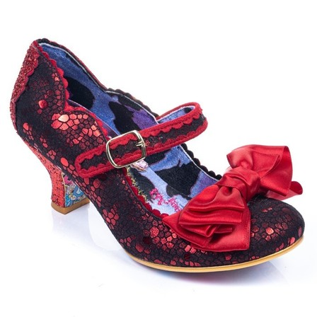 IRREGULAR CHOICE Summer Breeze Red