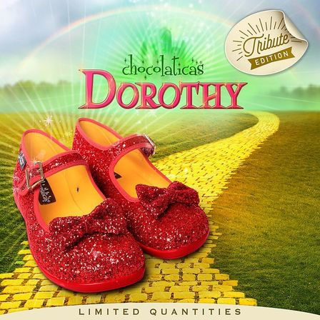 CHOCOLATICAS Dorothy Red Glitter