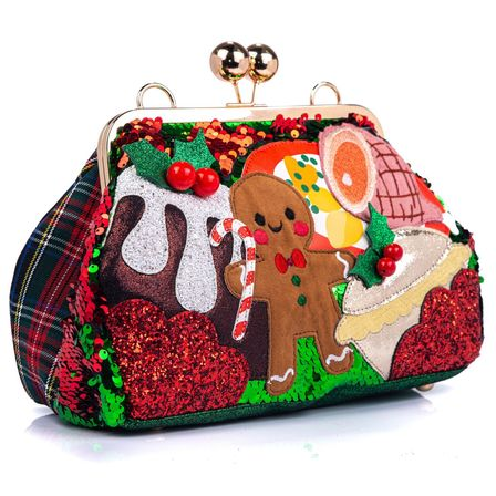IRREGULAR CHOICE Dinner Is Served Christmas Bag