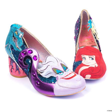 IRREGULAR CHOICE DISNEY The Little Mermaid Sea Dreams heels