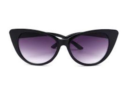Retro Sunglasses Black Cat Eye