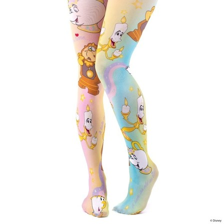 IRREGULAR CHOICE DISNEY Be Our Guest Tights
